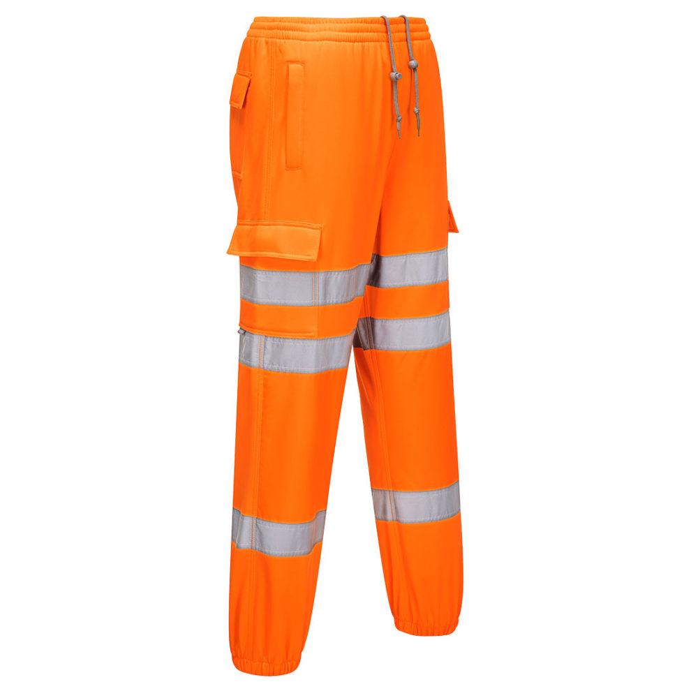 Pantalones deportivos de alta visibilidad  Naranja