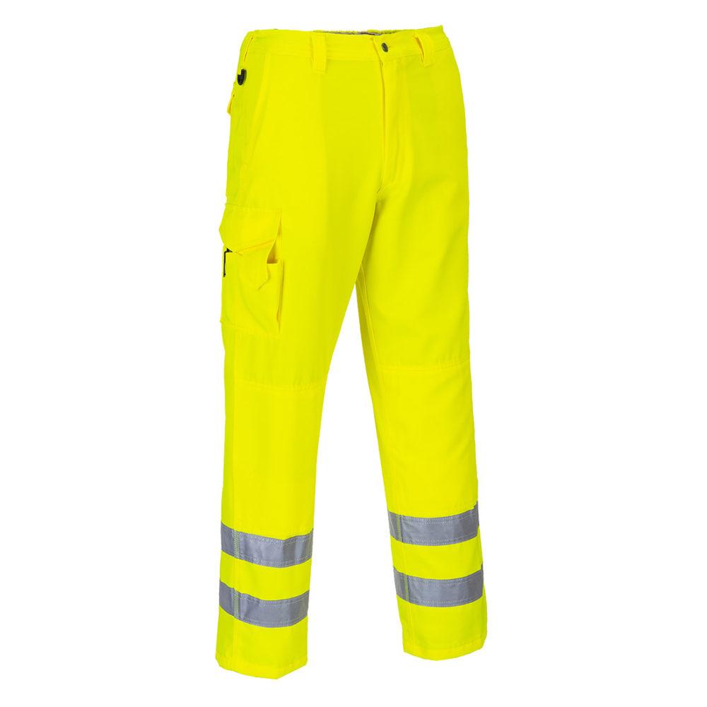 Pantalón Combat de alta visibilidad  Amarillo