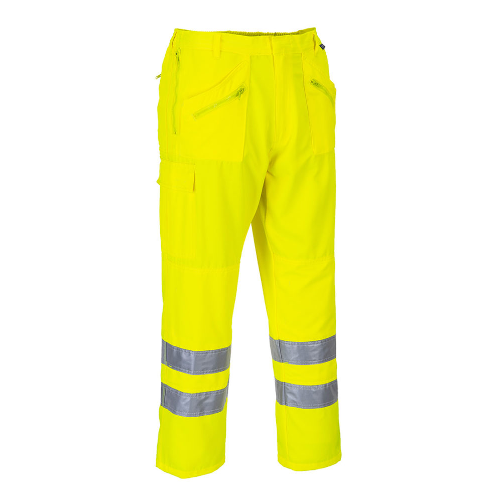 Pantalón Action de alta visibilidad  Amarillo