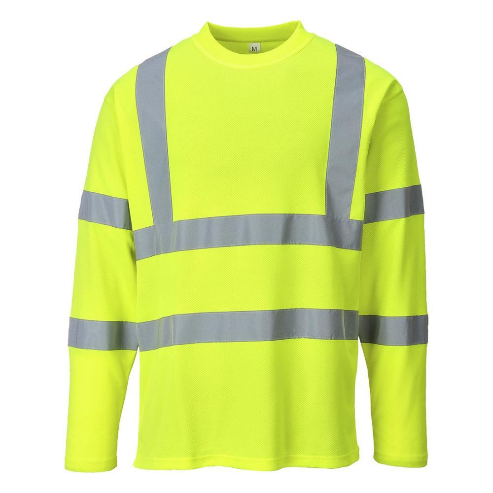 Camiseta manga larga de alta visibilidad