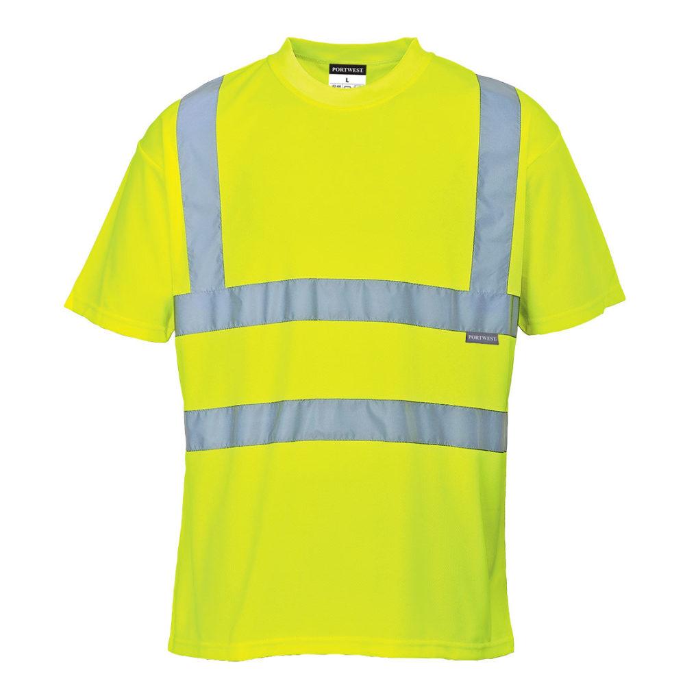 Camiseta de alta visibilidad