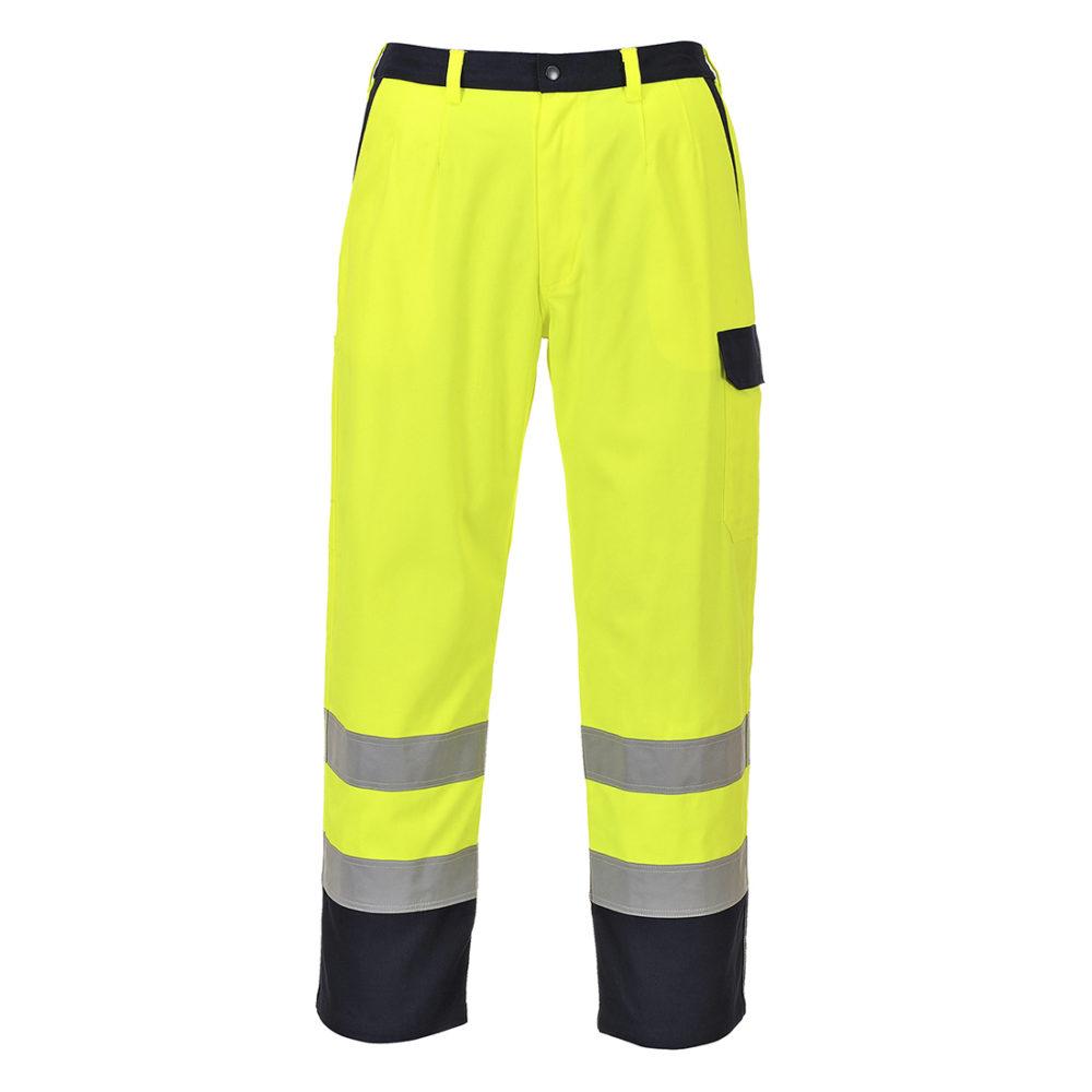 FR92. Pantalón de alta visibilidad Bizflame Pro  Amarillo