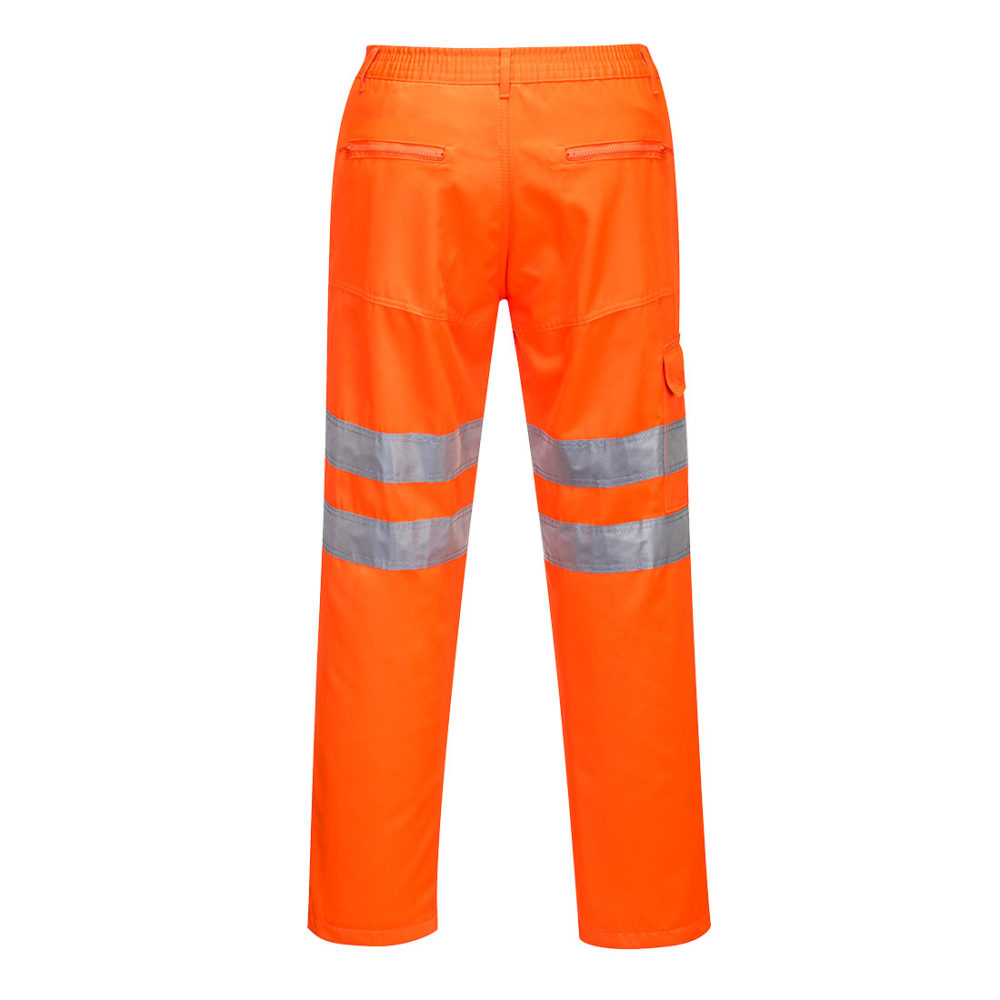Pantalones Action para el tren  Naranja