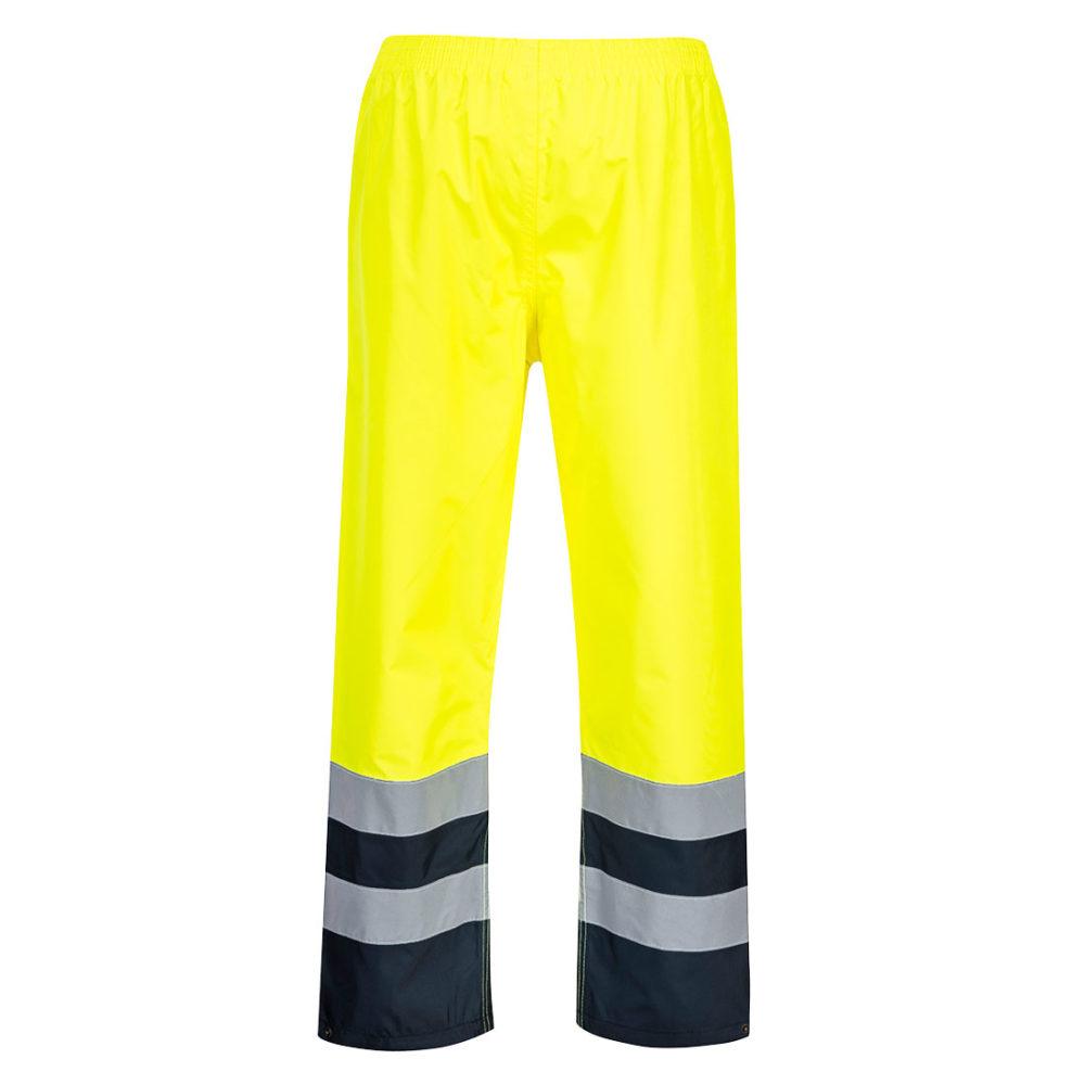 S486. Pantalón Traffic bicolor de alta visibilidad