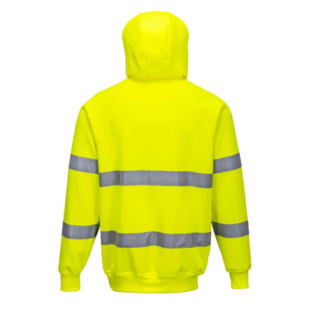 Sudadera de alta visibilidad con capucha