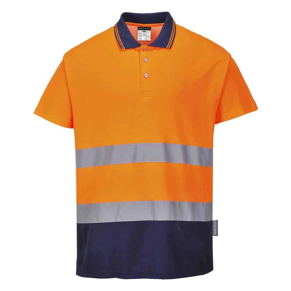 Polo bicolor Cotton Comfort