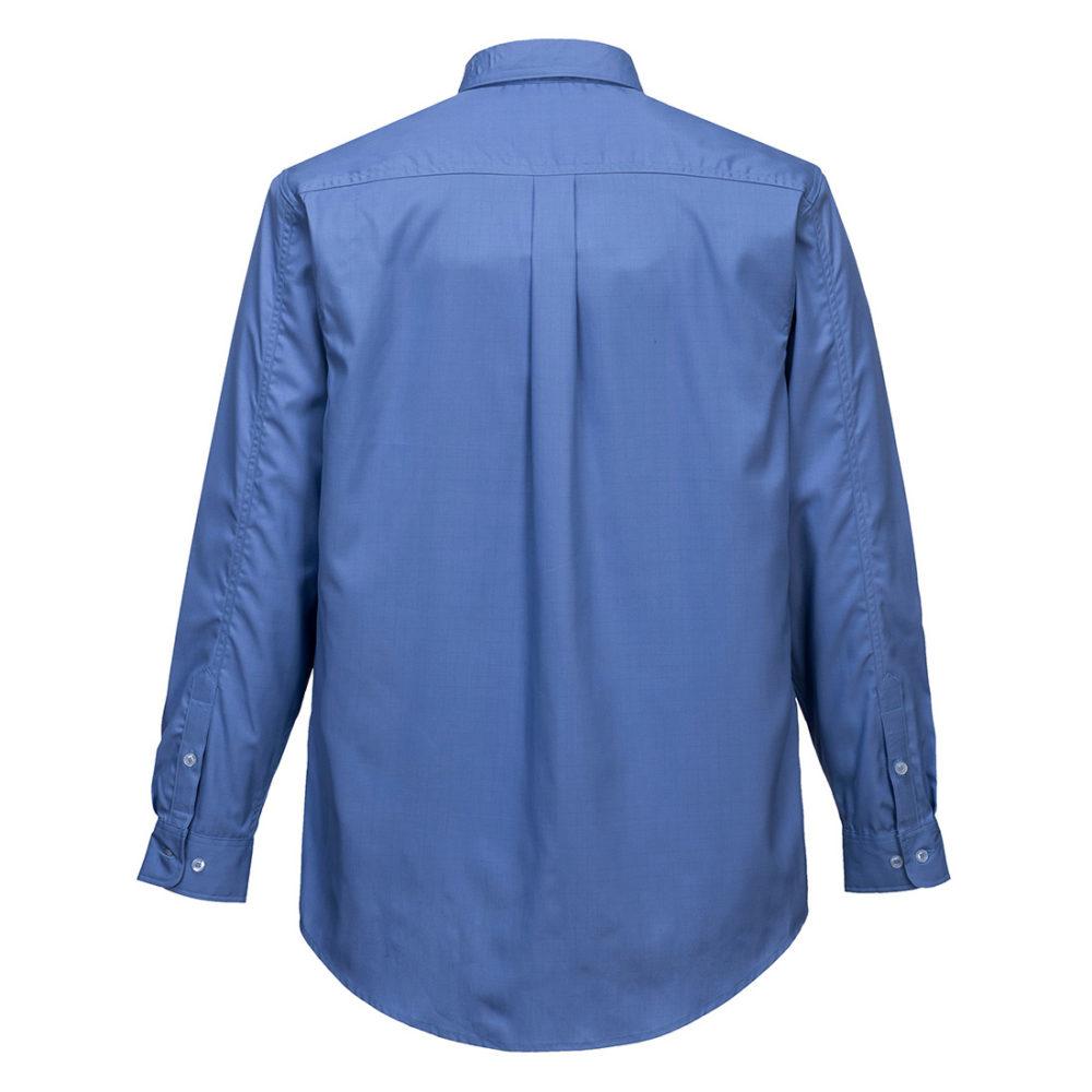 Camisa Bizflame Plus  Azul