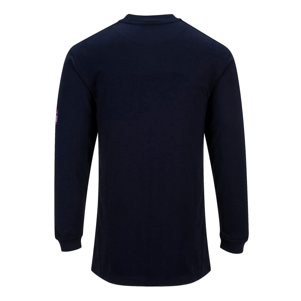 Camiseta de manga larga ignífuga y antiestática