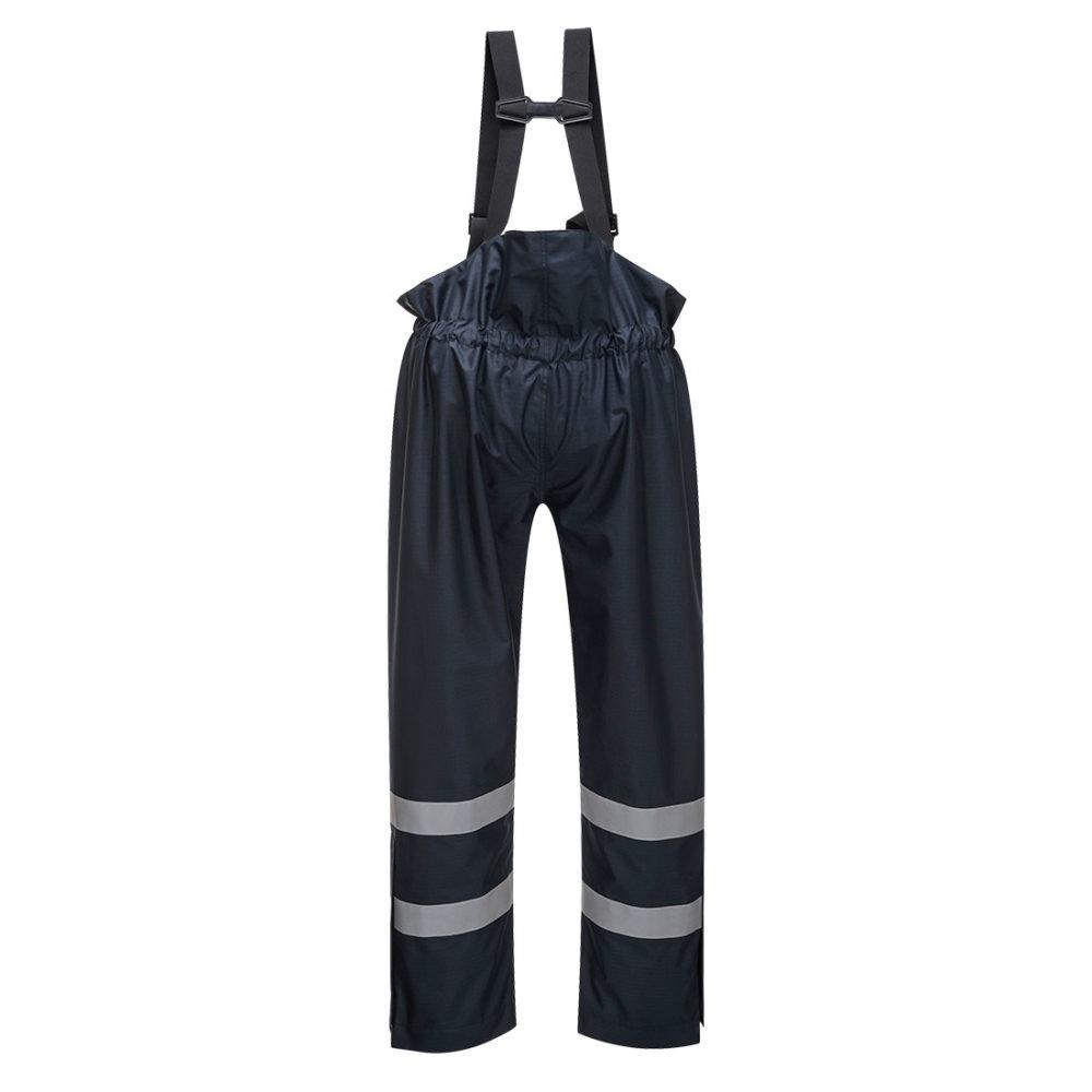 Pantalón Bizflame Rain multi-protección, sin forro  Azul marino