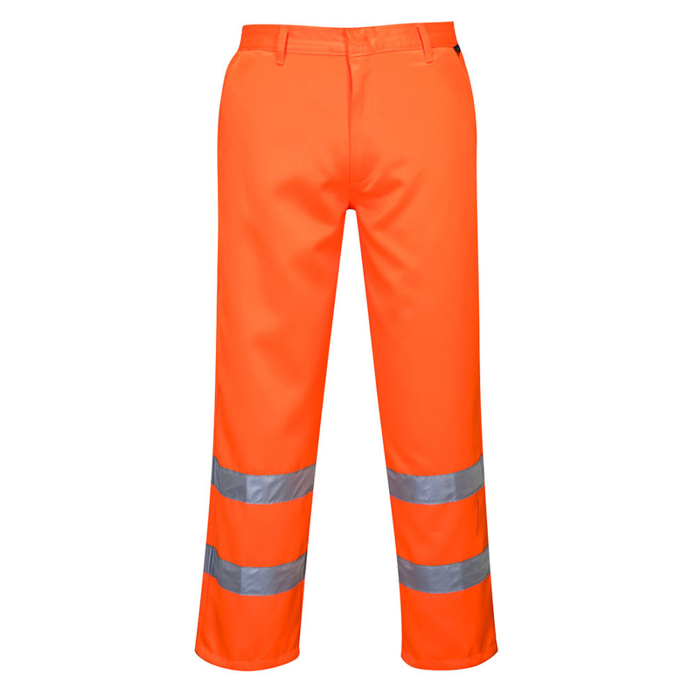 Pantalones de polialgodón de alta visibilidad