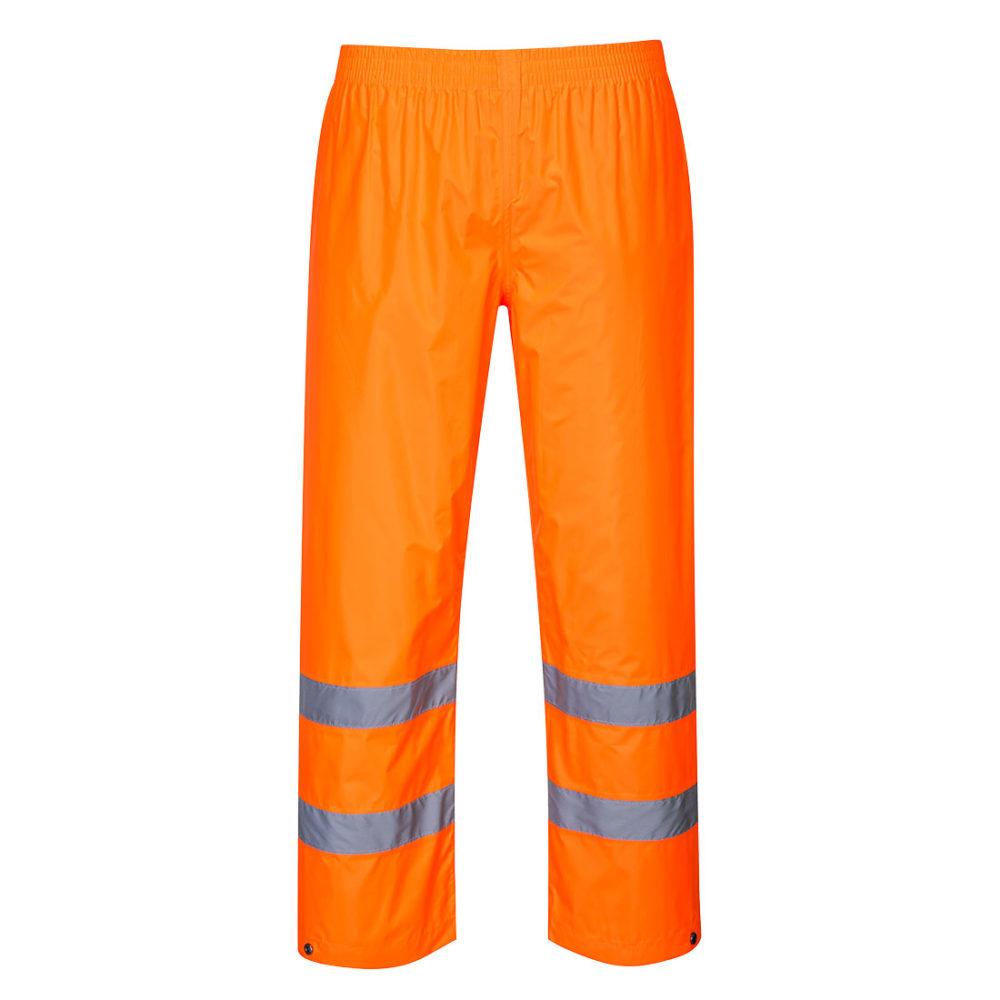 Pantalones de alta visibilidad para lluvia