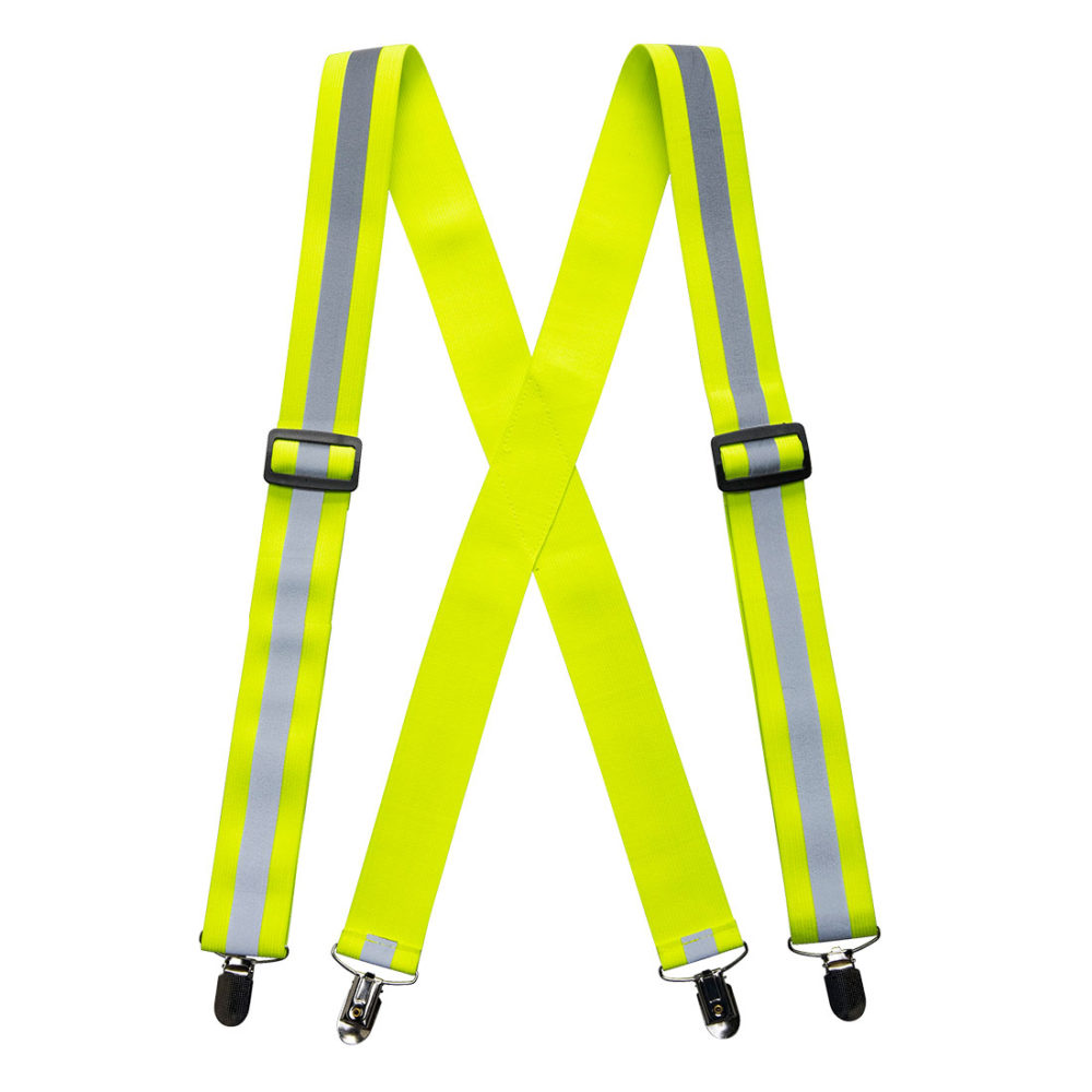 Tirantes de alta visibilidad para pantalones  Amarillo