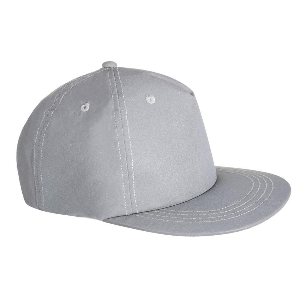 Gorra de baseball reflectante  Plata