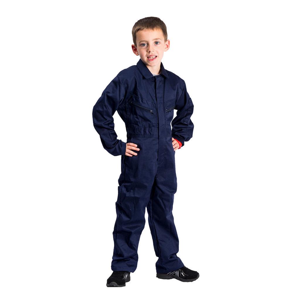 C890 – Buzo para niños  Azul marino