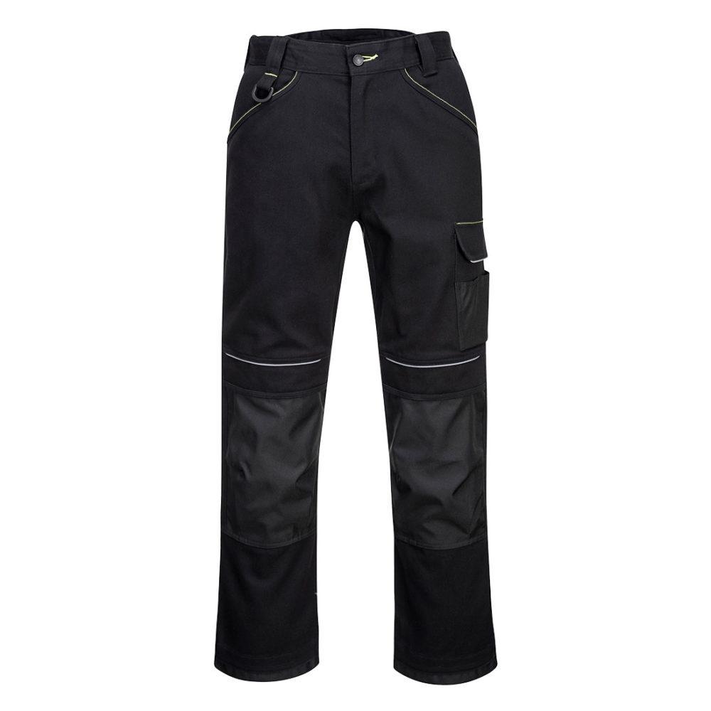 PW301 – Pantalón de trabajo de algodón PW3  Negro