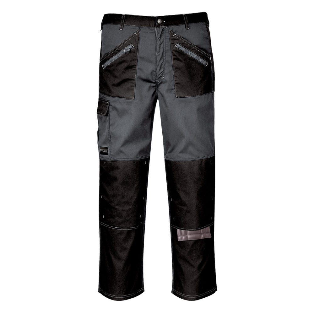 KS12 – Pantalón Chrome  Negro/Gris