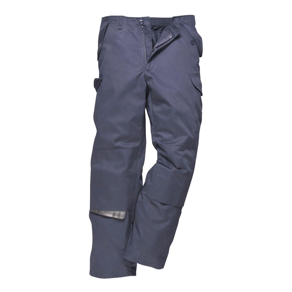 C703 – Pantalones de trabajo Combat Plus  Azul marino