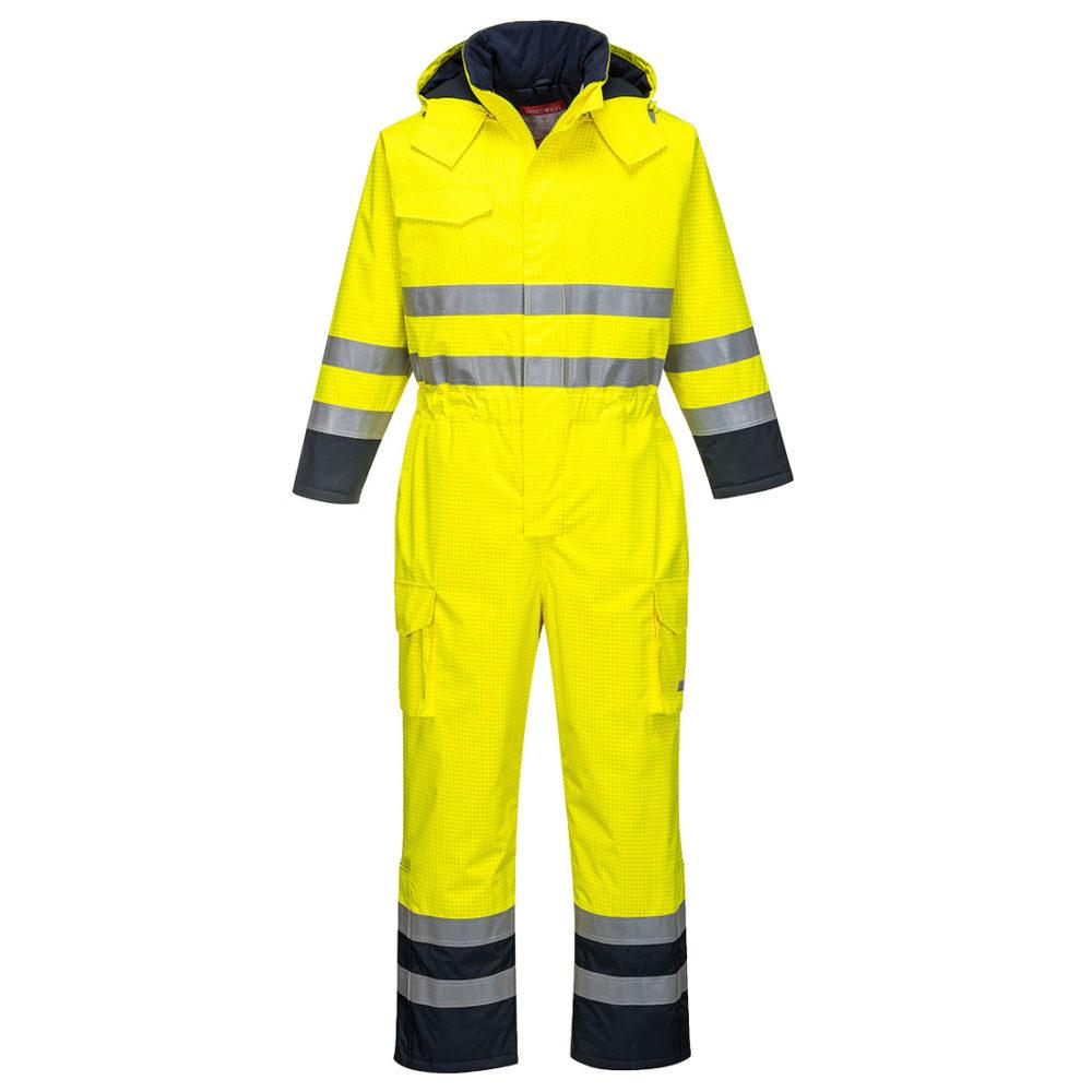 S775.  Mono de alta visibilidad ignífugo y antiestático Bizflame Rain