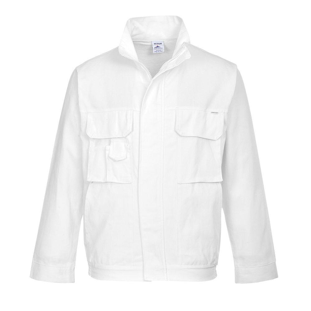 S827 – Chaqueta de pintor  Blanco