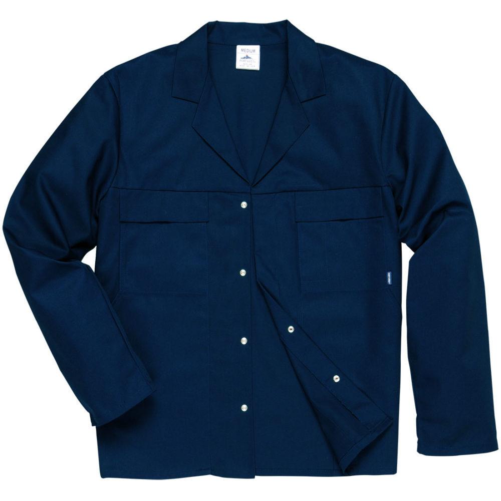 C859 – Chaqueta Mayo, cuatro bolsillos  Azul marino