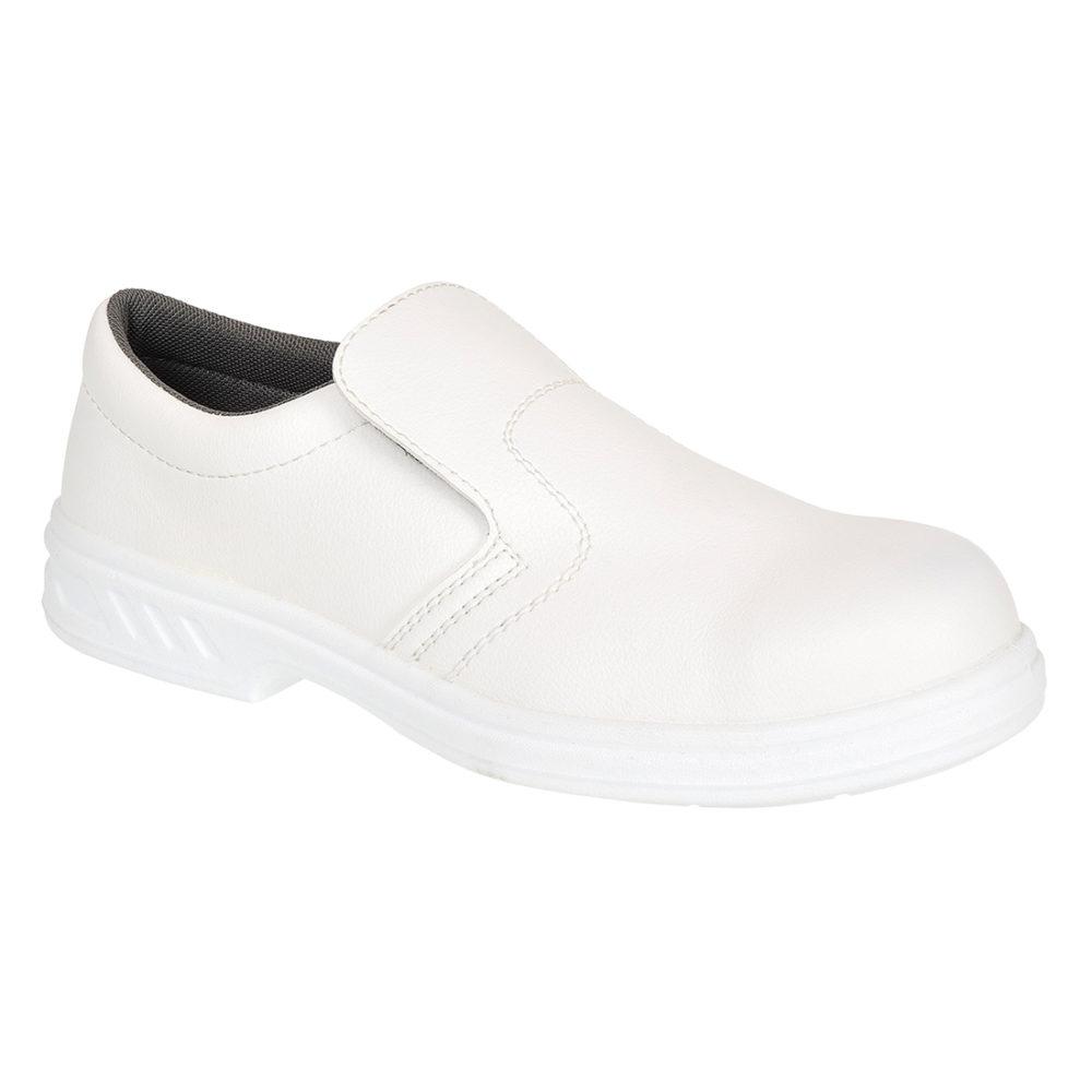 FW58 – Zapato de trabajo Slip On O2  Blanco