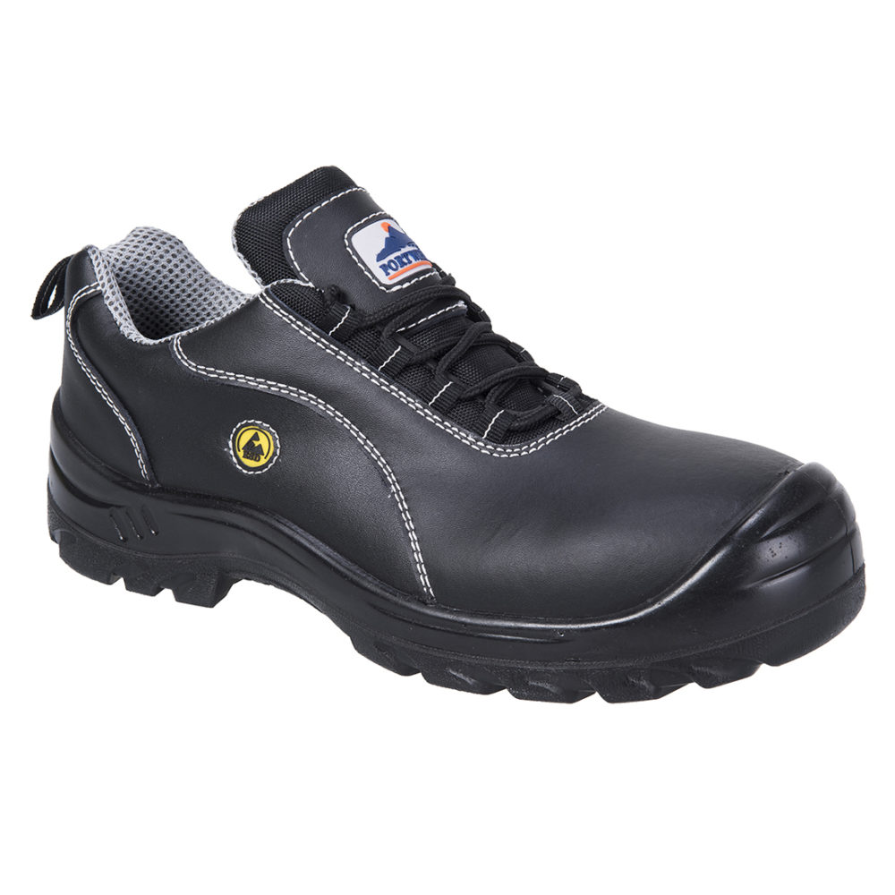 FC02 – Zapato Portwest Compositelite ESD Leather Safety S1  Negro