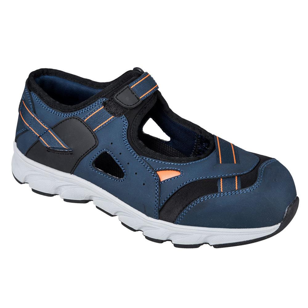 FT37 – Sandalia de seguridad Portwest Compositelite Tay S1P  Azul