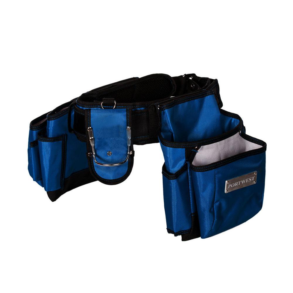 TB10 – Cinturón Tradesman para herramientas  Azul marino