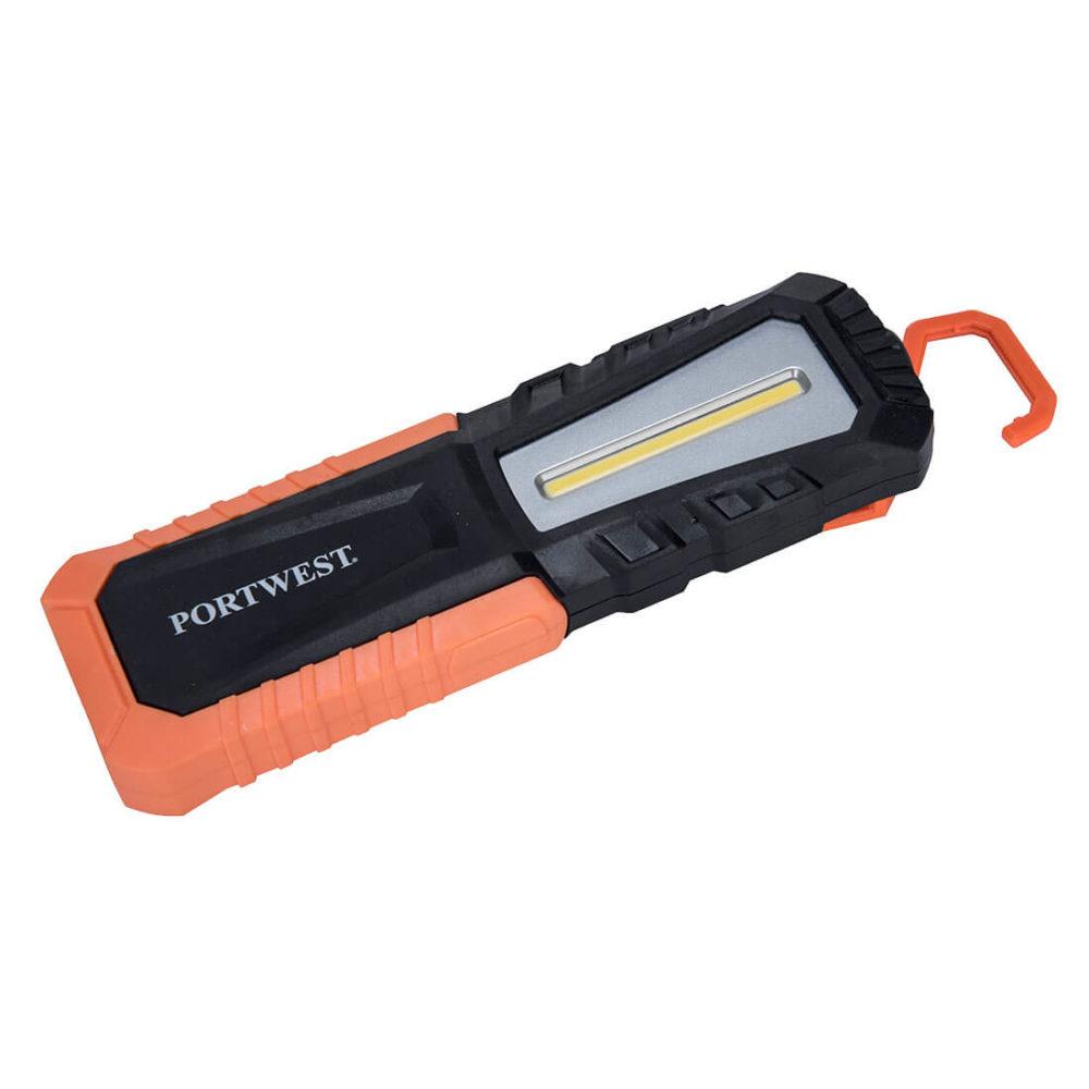 PA78 – Linterna de inspección recargable por USB  Negro