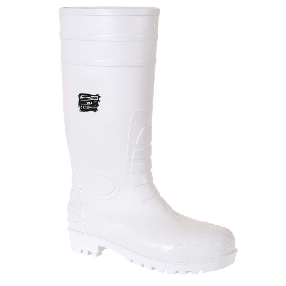 FW84 – Bota Wellinton Safety Food S4  Blanco