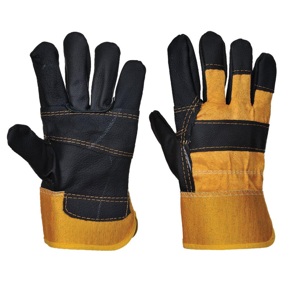 1 528 1000x1000 - A200 - Guante de piel Furniture  Amarillo