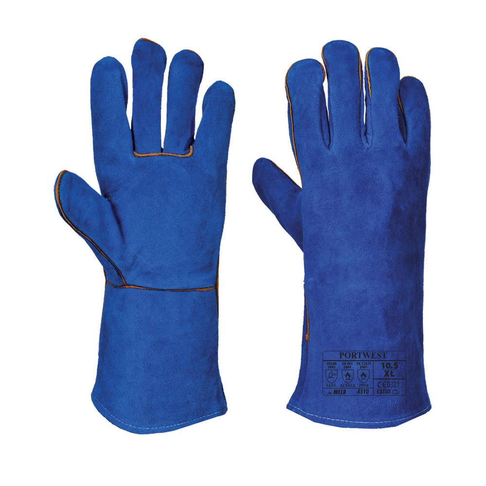 A510 – Guante de soldador  Azul