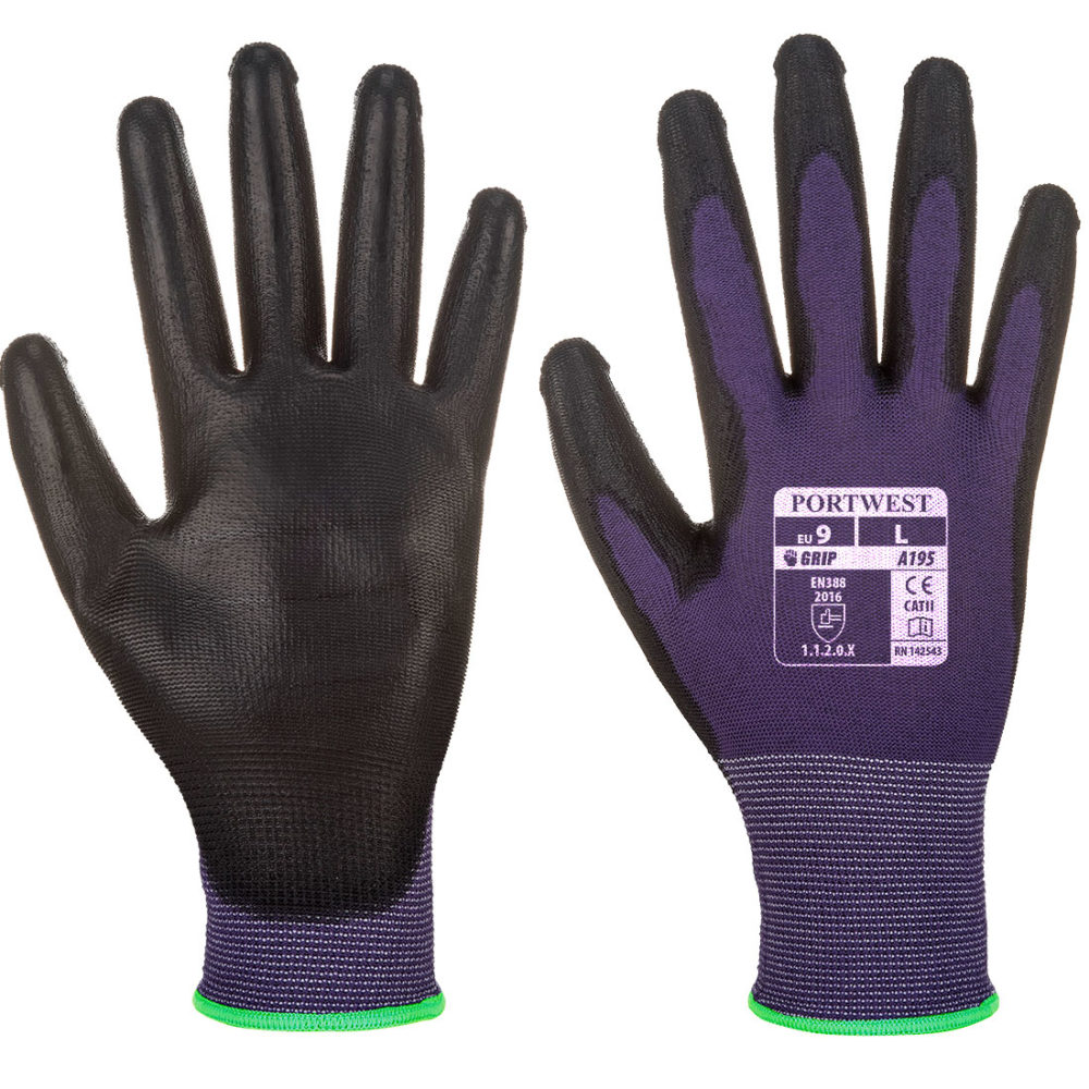 A195 – Touchscreen – PU  Púrpura/Negro