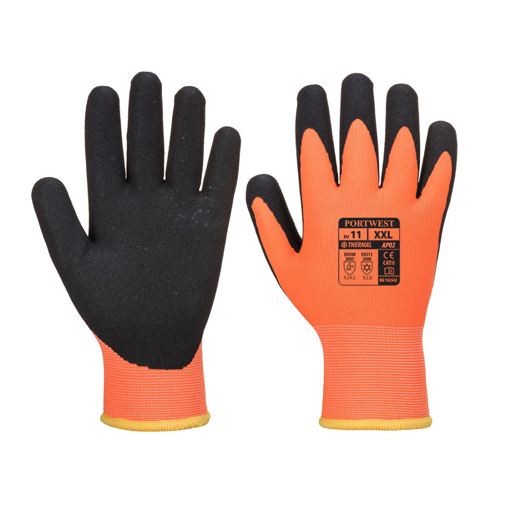1 556 1000x1000 - AP02 - Guante Thermo Pro Ultra  Naranja/Negro
