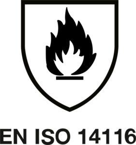 14116 2017 281x300 - Normativa ISO 11612 / ISO 14116 sobre la ropa laboral resistente al fuego