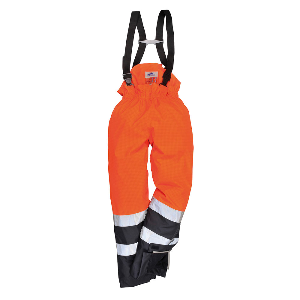 S782Pantalón de alta visibilidad multi-protección Bizflame Rain