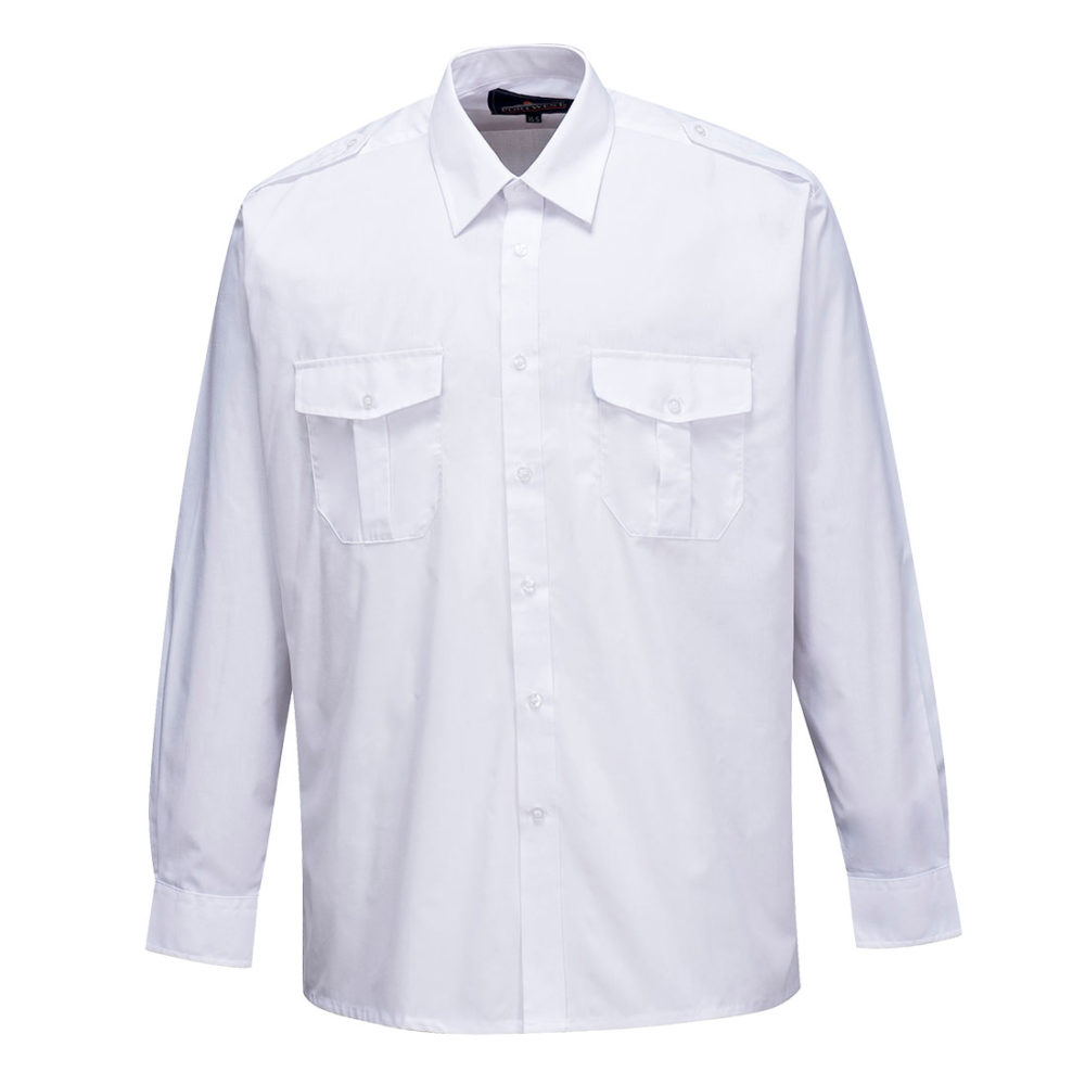 S102 – S102 Camisa Pilot, manga larga