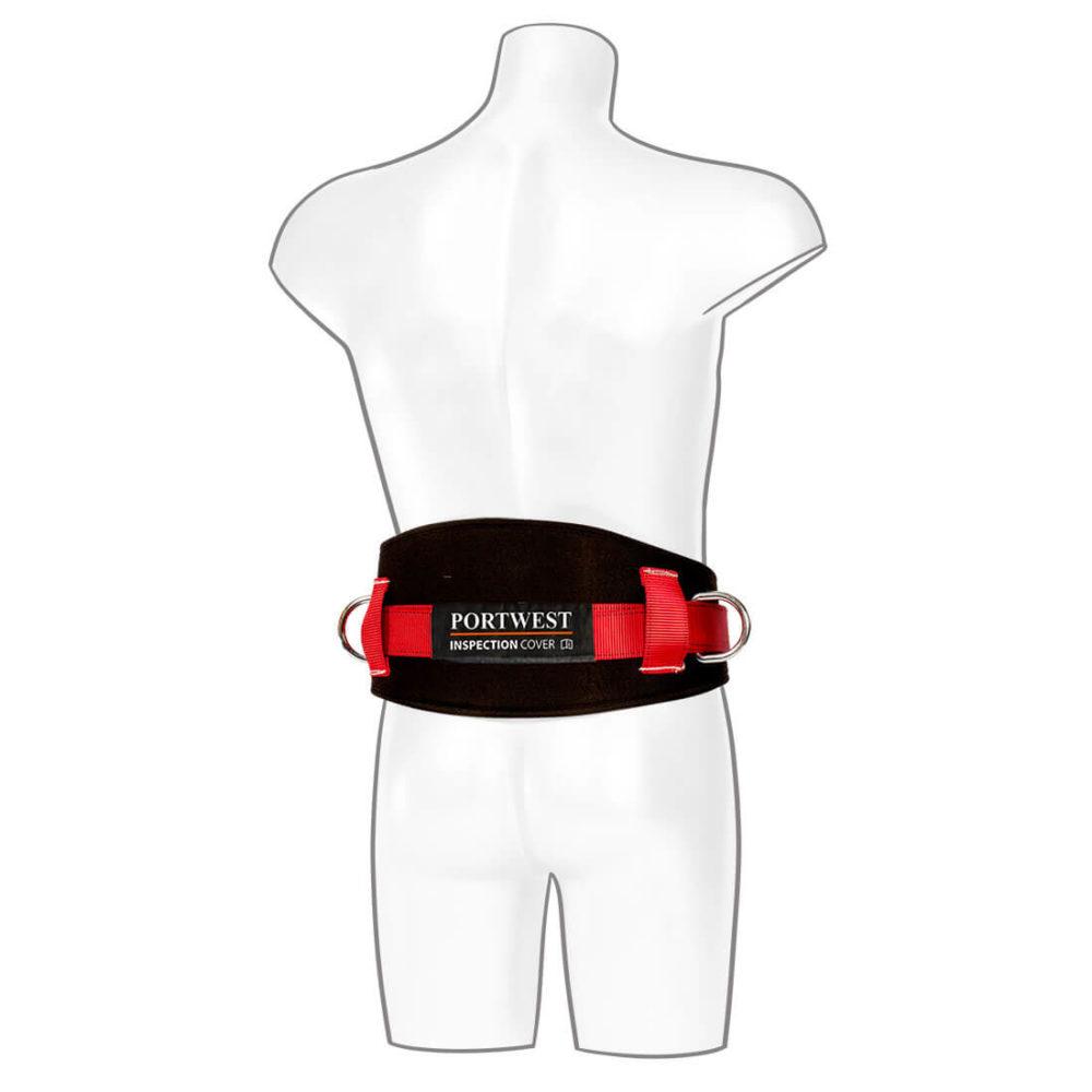 FP08 – Cinturón para sujección en posición de trabajo  Negro