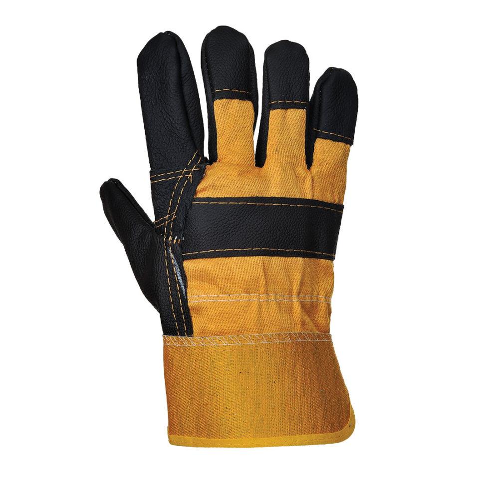 A200 – Guante de piel Furniture  Amarillo