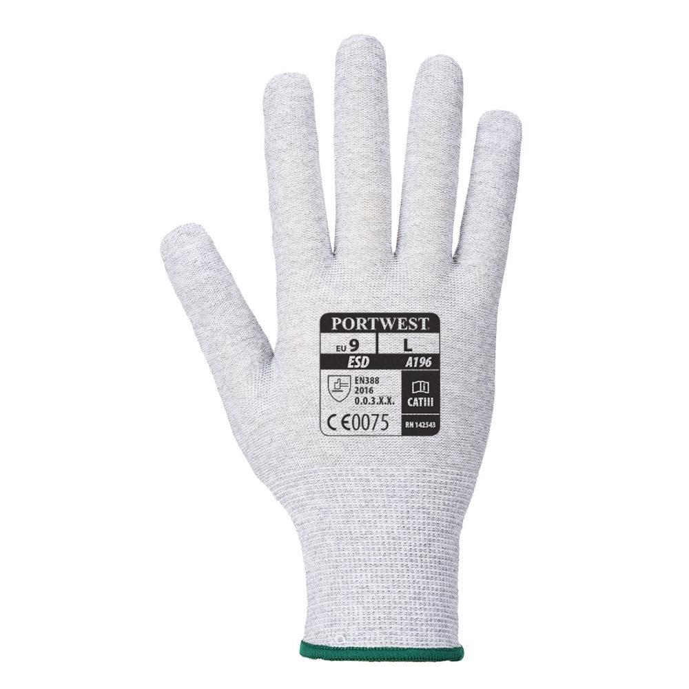 A196 – Guante antiestático Micro Dot Blanco