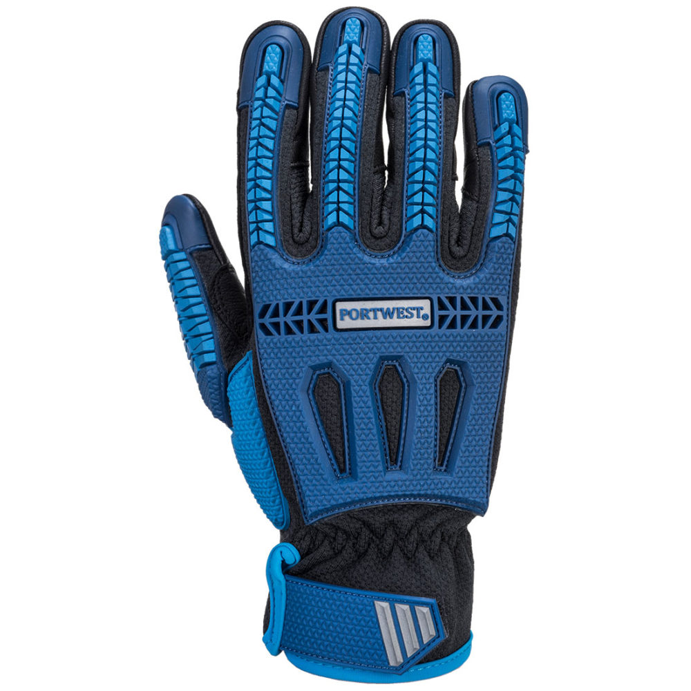 A761 – Guante anti-corte Impact VHR  Azul/Negro