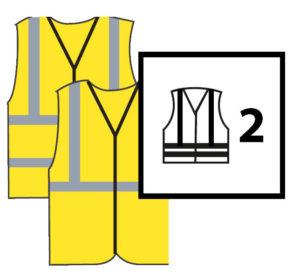 Alta visibilidad clase2 300x274 - Normativa EN 20471 Sobre ropa laboral de alta visibilidad