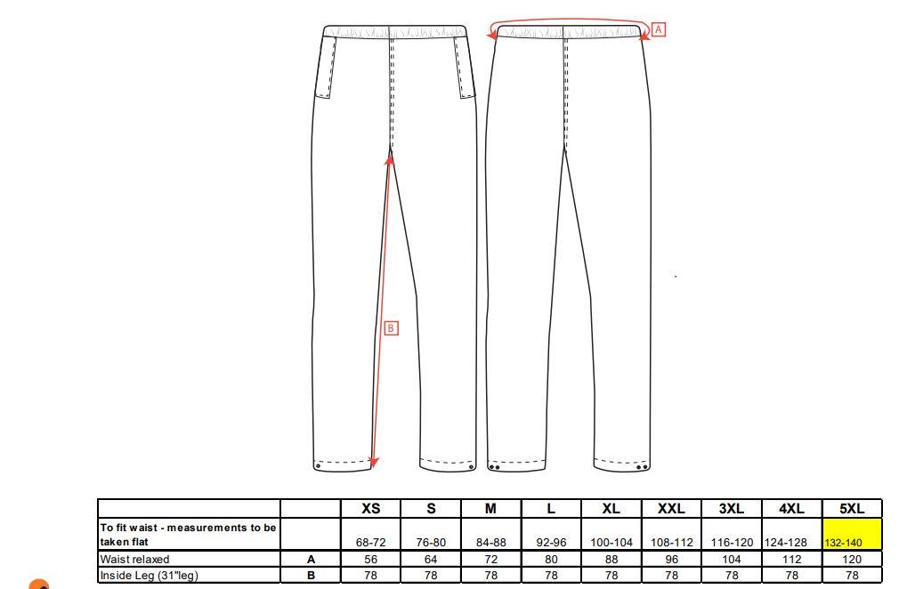 Captura 56 - S441 - Pantalones para lluvia Classic