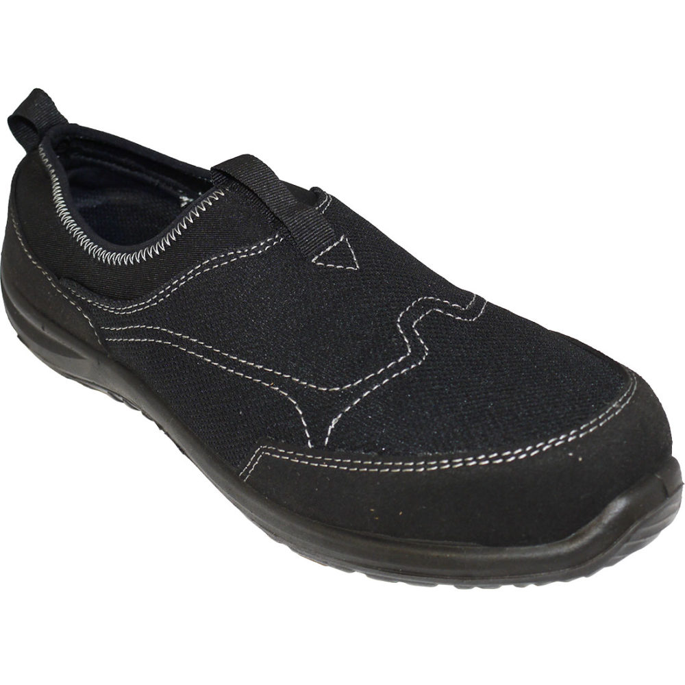 FT54 – Deportivo Steelite Tegid Slip On S1P Negro