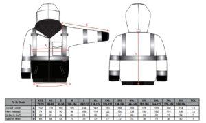 S363 300x180 - S363 - Cazadora bicolor de alta visibilidad