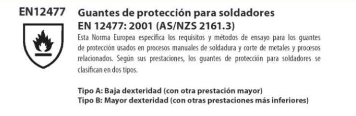 normativa guantes de proteccion para soldadores - Normativas sobre los guantes de seguridad