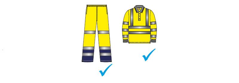 vestuario laboral de alta visibilidad - Normativa EN 20471 Sobre ropa laboral de alta visibilidad