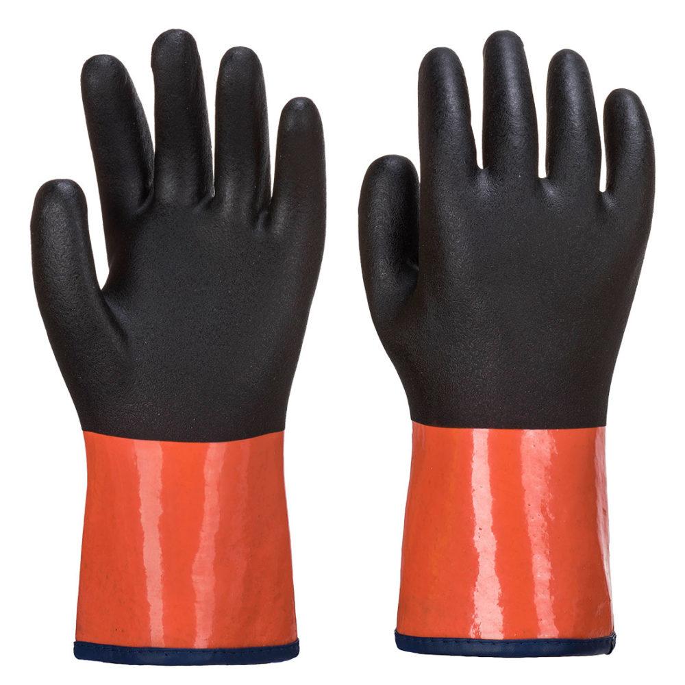 AP91 – Guante Chemdex Pro  Negro/Naranja