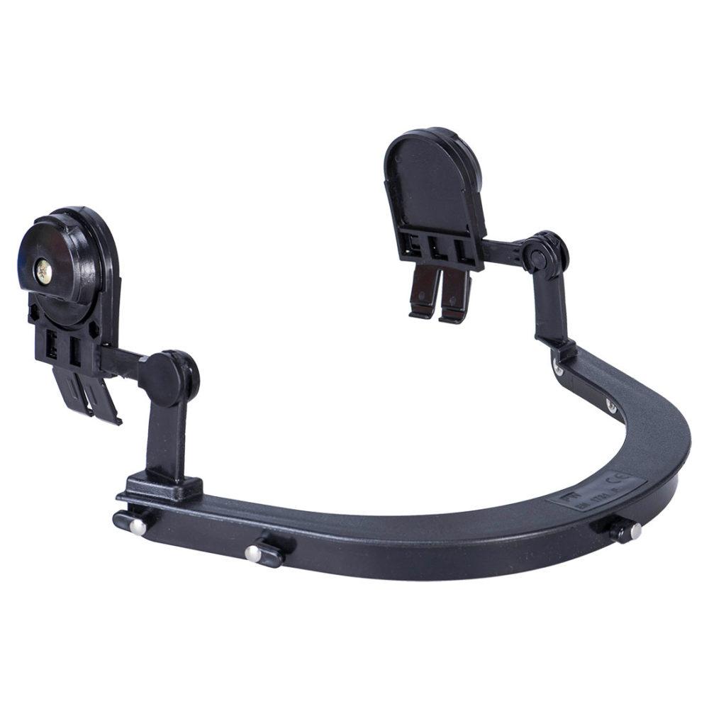 PS58 – Soporte de visor para casco  Negro