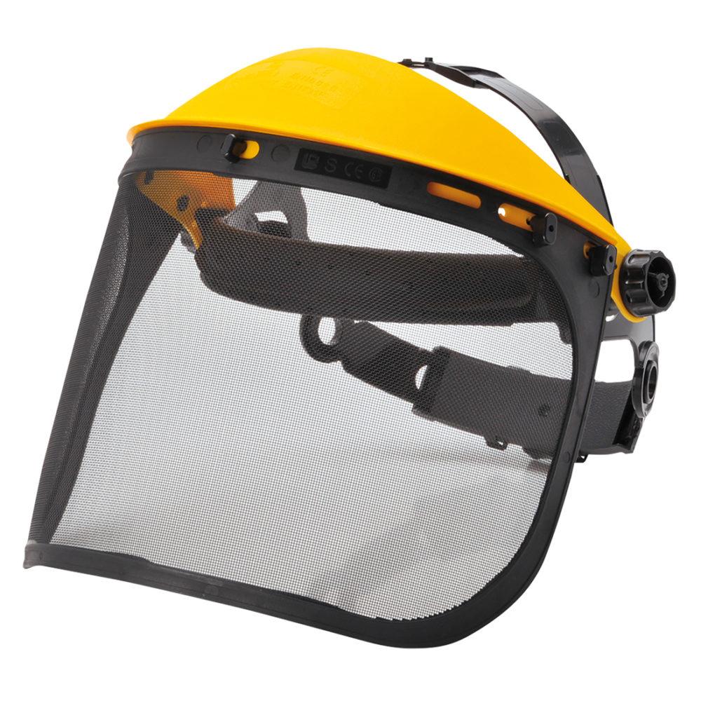PW93 – Frontal con visor de malla  Negro